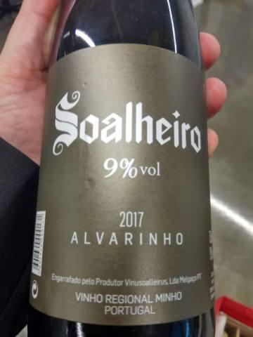 Soalheiro 9% Alvarinho 2017