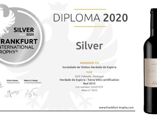 Diploma Herdade Espirra 2015