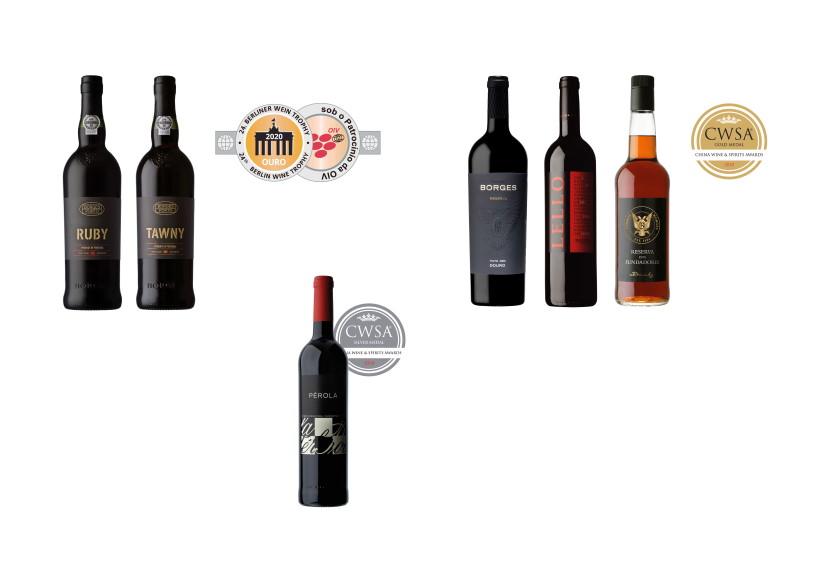 Vinhos Borges premiados em dois concursos internacionais