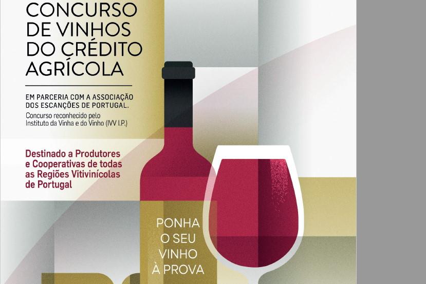 """""""Ponha o seu vinho à prova"""" no Concurso de Vinhos do Crédito Agrícola"""