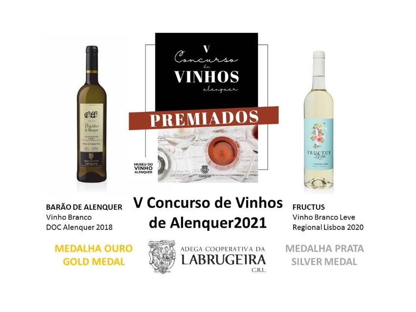 """Revelados os premiados do """"V Concurso de Vinhos de Alenquer"""""""