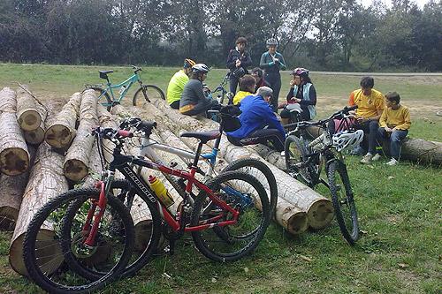 Sortida amb bicicleta a Brunyola 2 - Diumenge, 7 de novembre de 2010