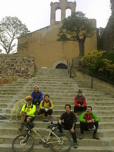 Sortida amb bicicleta a Brunyola 6 - Diumenge, 7 de novembre de 2010