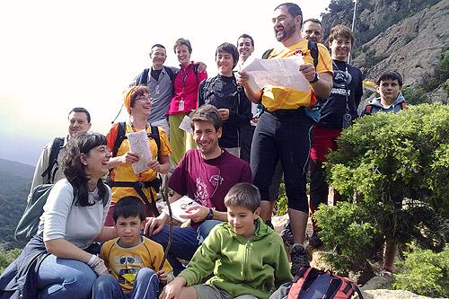 Curs d'orientació 1 - Maig de 2011