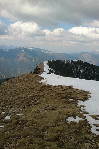 Gallina Pelada (serra d'Ensija) 1 - Diumenge, 1 d'abril de 2012