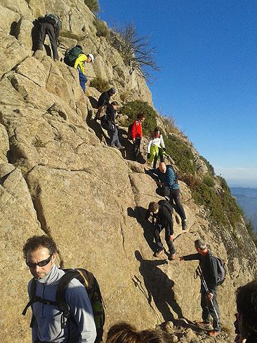 Les Agudes pel camí dels Castellets 2 - Diumenge, 11 de gener de 2015