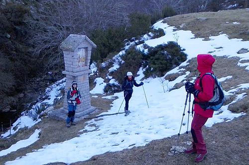Sant Segimon-Matagalls-Collformic 1 - Diumenge, 22 de febrer de 2015