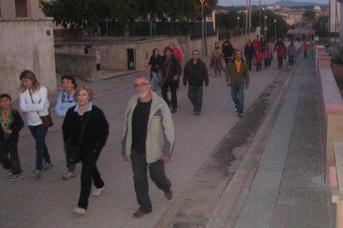 Caminada nocturna 3 - Dissabte, 24 de març de 2012