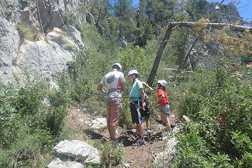 Últim dia del curset d'escalada infantil 1 - Diumenge, 19 de juny de 2016