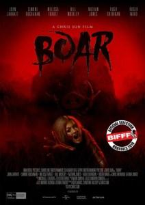 Boar, il nuovo horror di Chris Sun