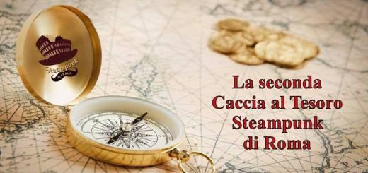 1° giugno a Roma caccia al tesoro Steampunk