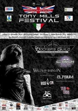IL 21 settembre si terrà il Tony Mills Festival
