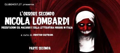 L'orrore secondo Nicola Lombardi 2° parte