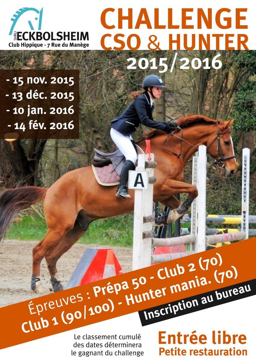 Challenge CSO hunter Alsace 2015 2016