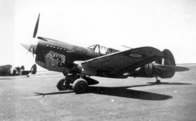 An Analysis Of P 40E CU A 29 113 Sqn Ldr Dick Cresswell