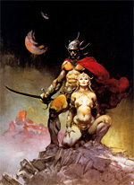 Fanboys love Frazetta. I wonder why?