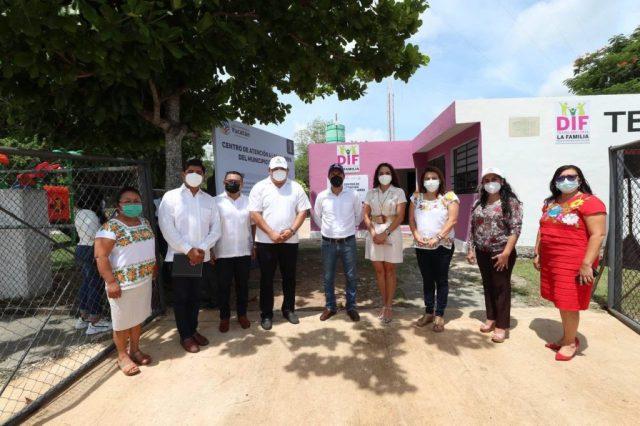 Inaugura el Gobernador Mauricio Vila Dosal el Centro Regional de Atención a las Mujeres de Tecoh