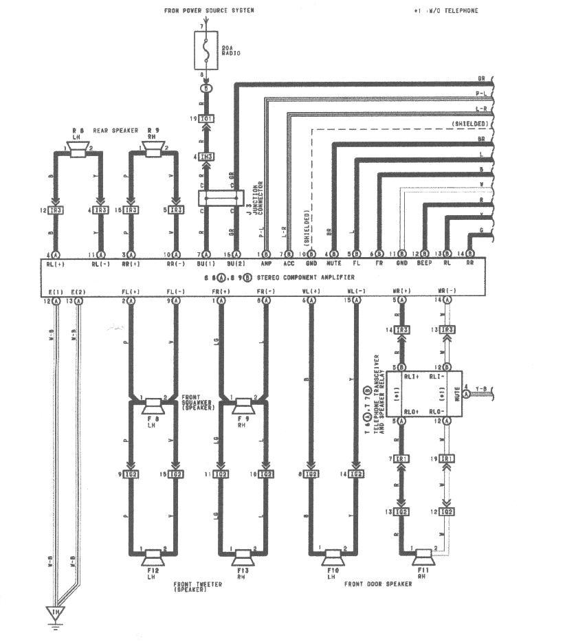2006 lexus gs300 alternator fuse box  lexus  auto wiring