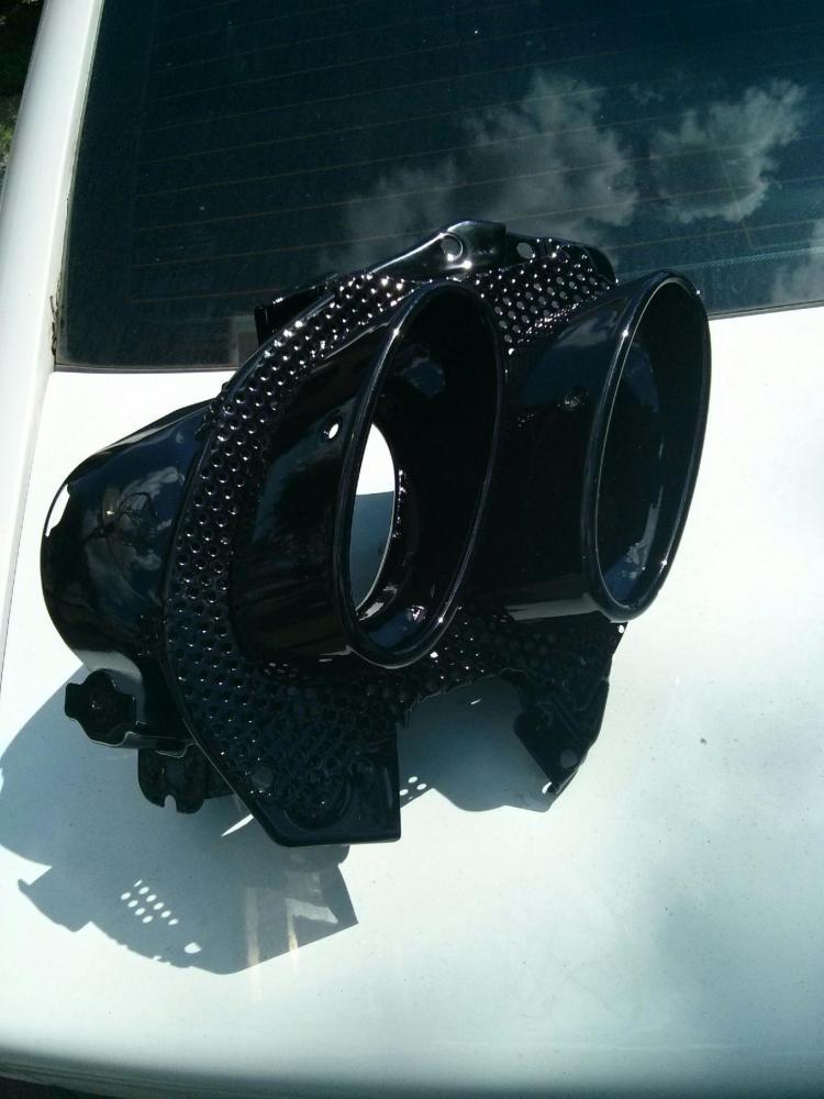 flat black exhaust tips clublexus