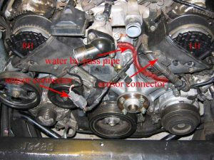 1996 LS400 Timing Belt Replacement In Progress  Page 4