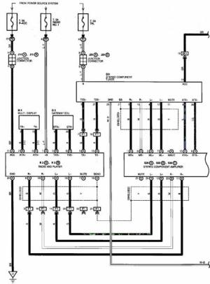 Need Wiring Diagram from Radio Harness  ClubLexus  Lexus