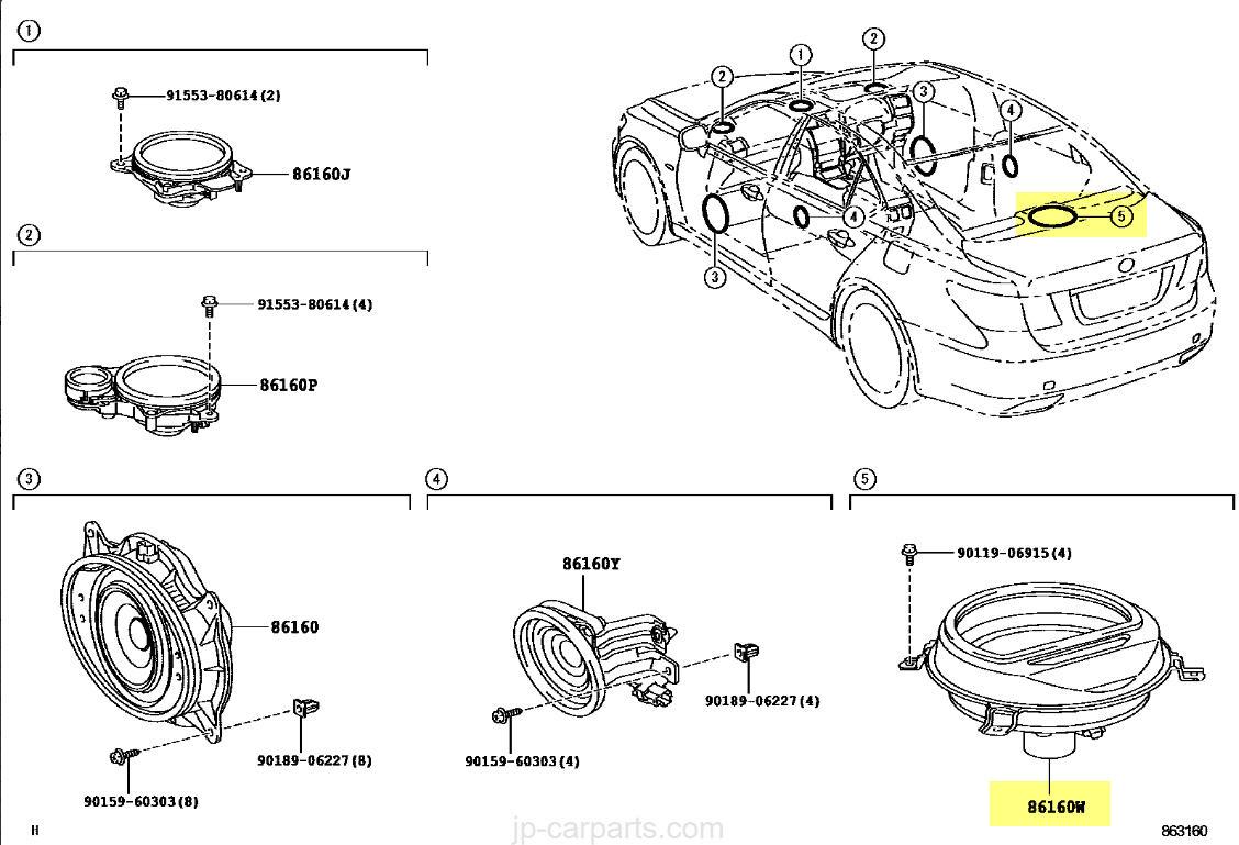 Audi A4 Amp Location