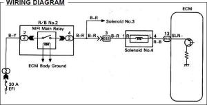 Looking for No 4 Solenoid Wiring Diagram  ClubLexus