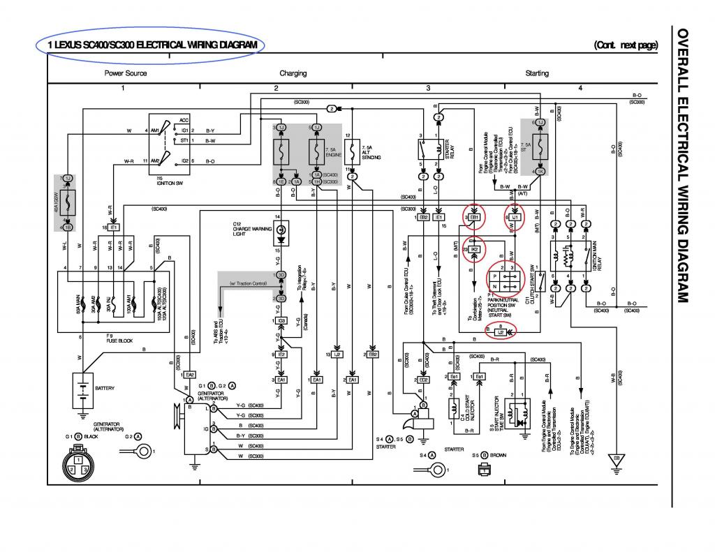 Diagram Additionally Lexus Sc400 Diagrams Wiring Likewise 1993 Ls400 Fuse Box Walther P99 And