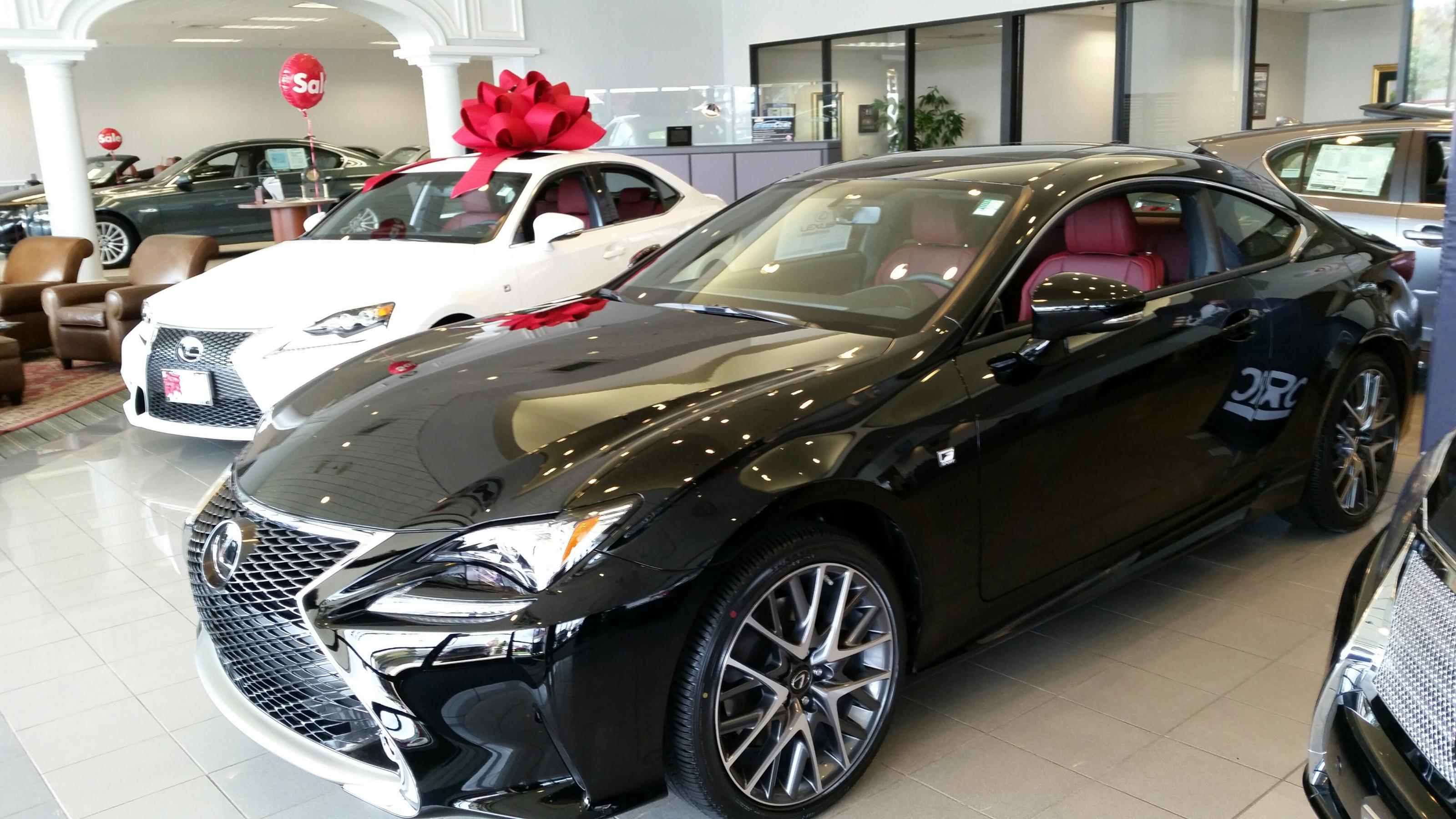 Lexus f sport lease