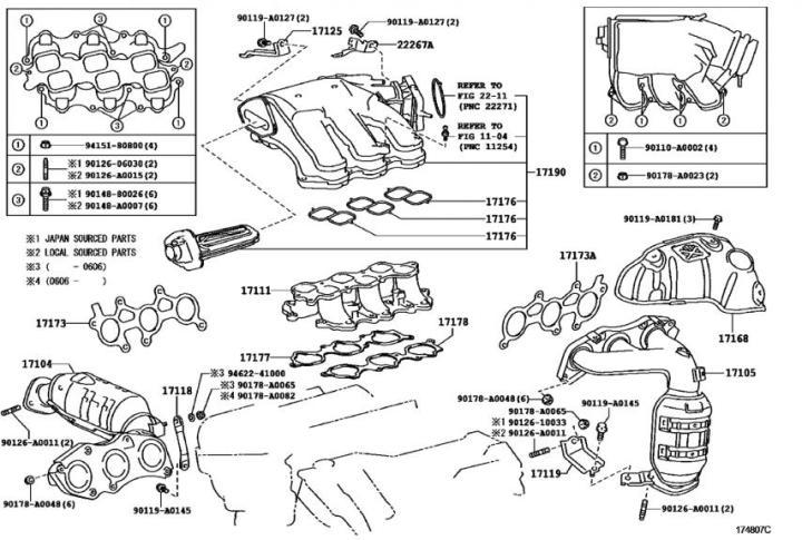 2007 Lexus Is250 Interior Parts