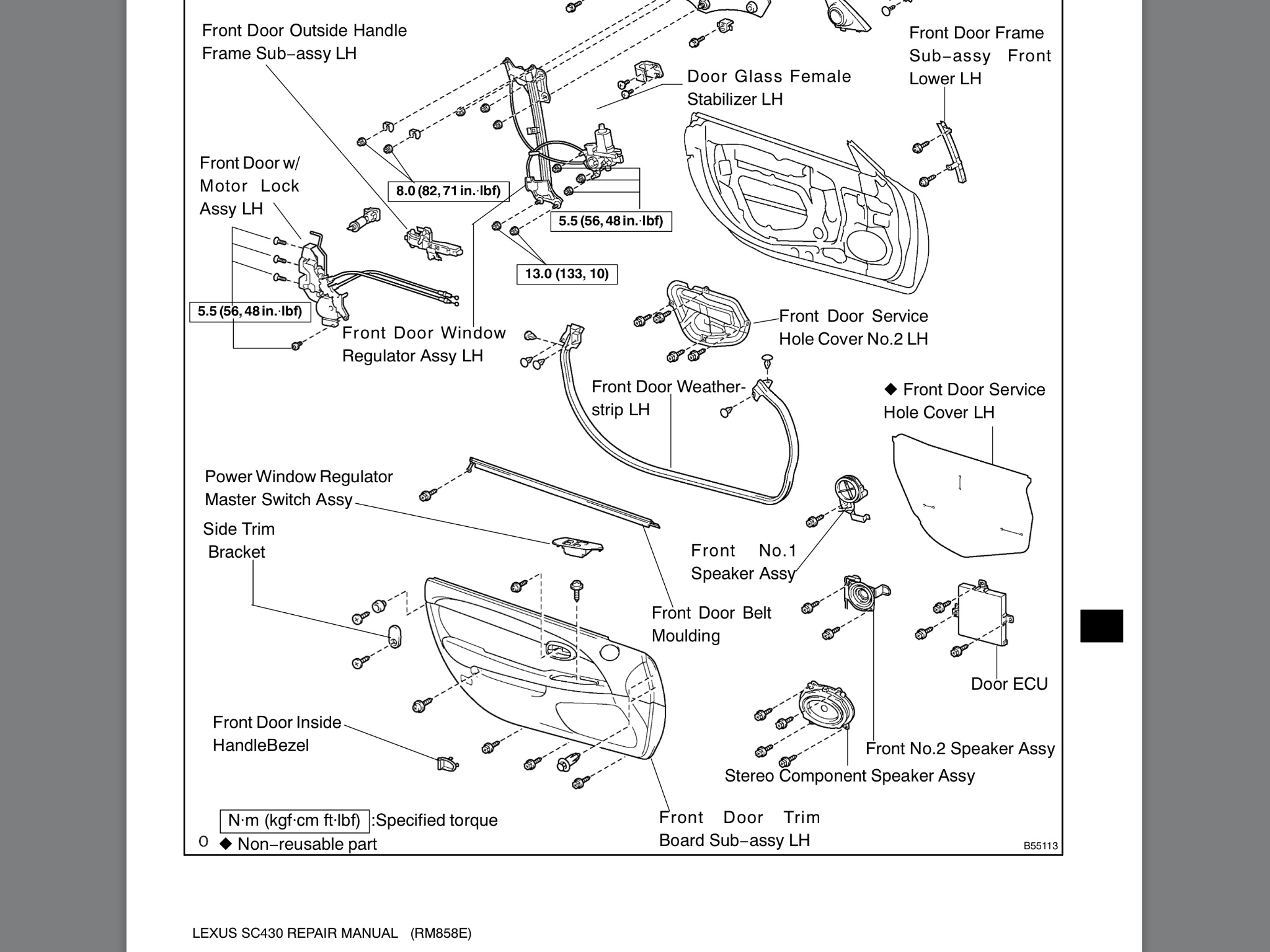 Diagrams To Remove Lexus Is Driver Door Panel