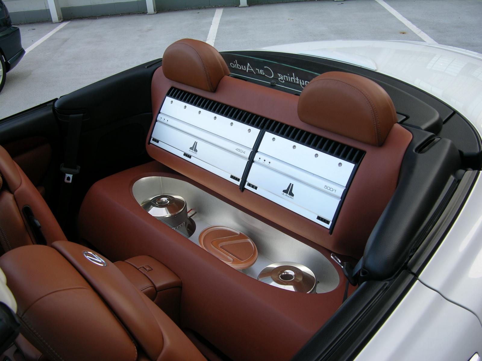 LA FS Custom stereo setup SC430 ClubLexus Lexus Forum Discussion