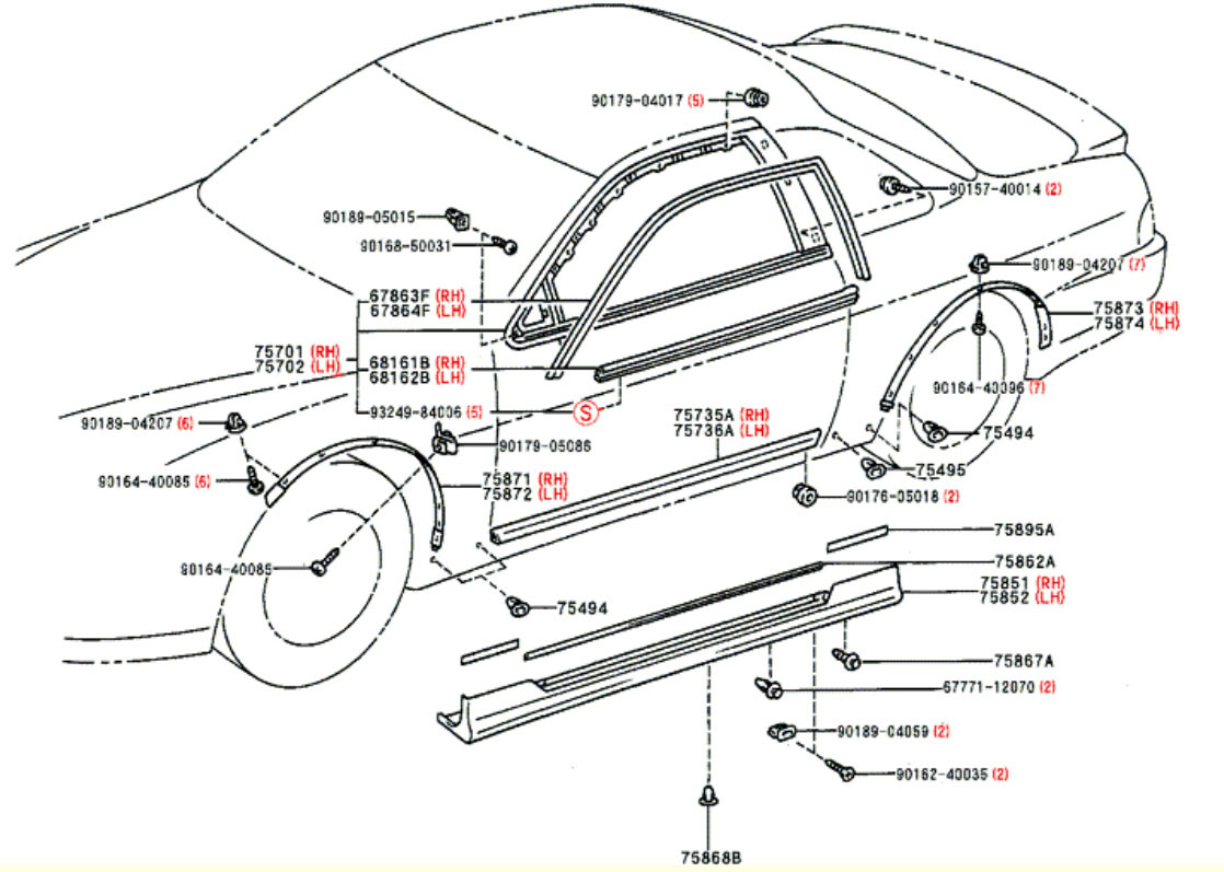 How To Install 97 Side Skirts