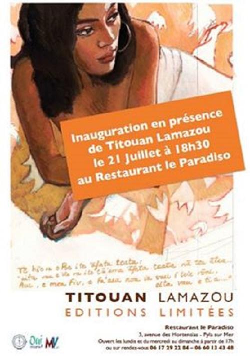 Exposition Titouan Lamazou