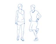 Club Pilates  community illustration