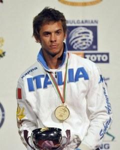 Il campione Europeo Andrea Baldini