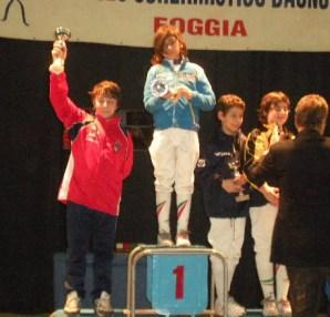 Giovanni Cozza secondo classificato a Foggia