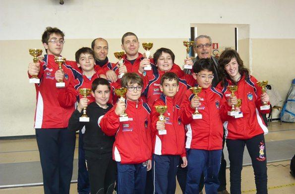 Gruppo Under 14 a Lamezia Terme