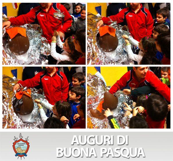 Buona Pasqua 2013 Club Scherma Cosenza