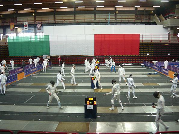 Gara scherma La Spezia Aprile 2013