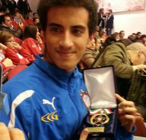 Francesco Perri atleta anno 2013