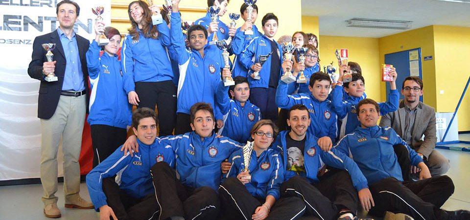 Gruppo CSC gara Castrolibero 2014