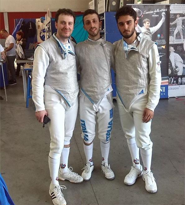 Perri, Pastore e Bruno ad Adria (RO)