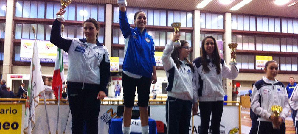Claudia Aiello, vittoria gara Lamezia Terme