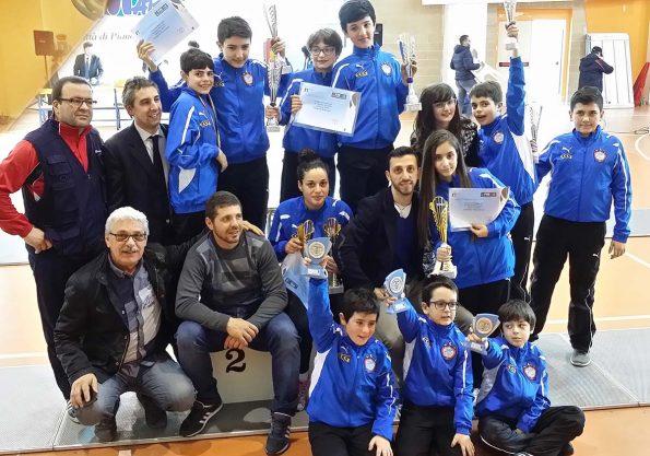 Gara regionale Pianopoli 2015, Club Scherma Cosenza