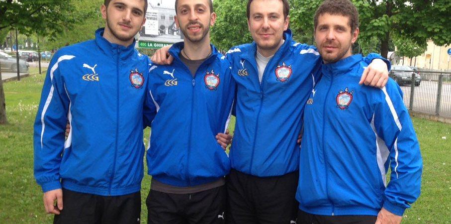 Squadra fioretto Club Scherma Cosenza ad Adria