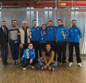 Gruppo Club Scherma Cosenza, gara Rogliano 2015