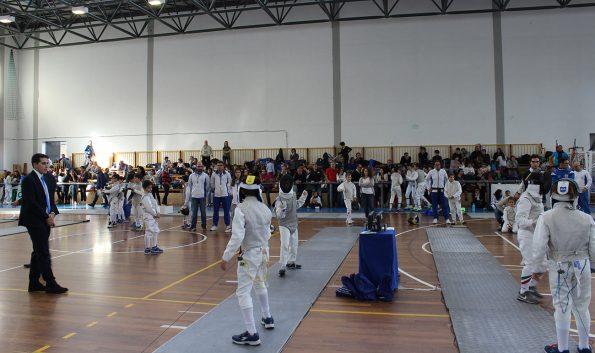 Gara di scherma a Rende, prova GPG 2016-17