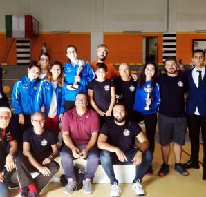 Prima Prova regionale: la delegazione del Club Scherma Cosenza