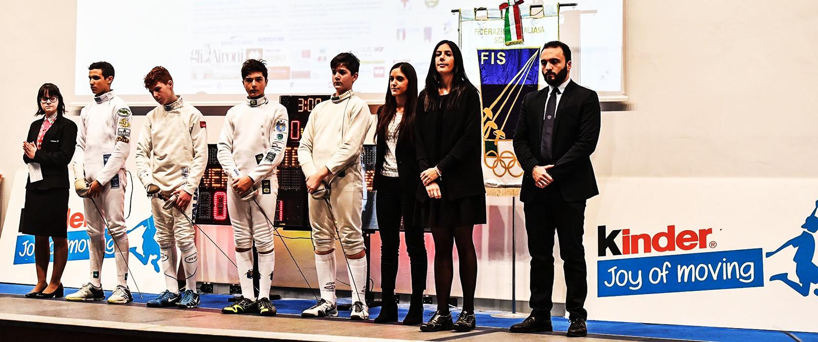 Gran Prix Joy of Moving, prima Prova di spada a Vercelli: Angotti arbitra una finale